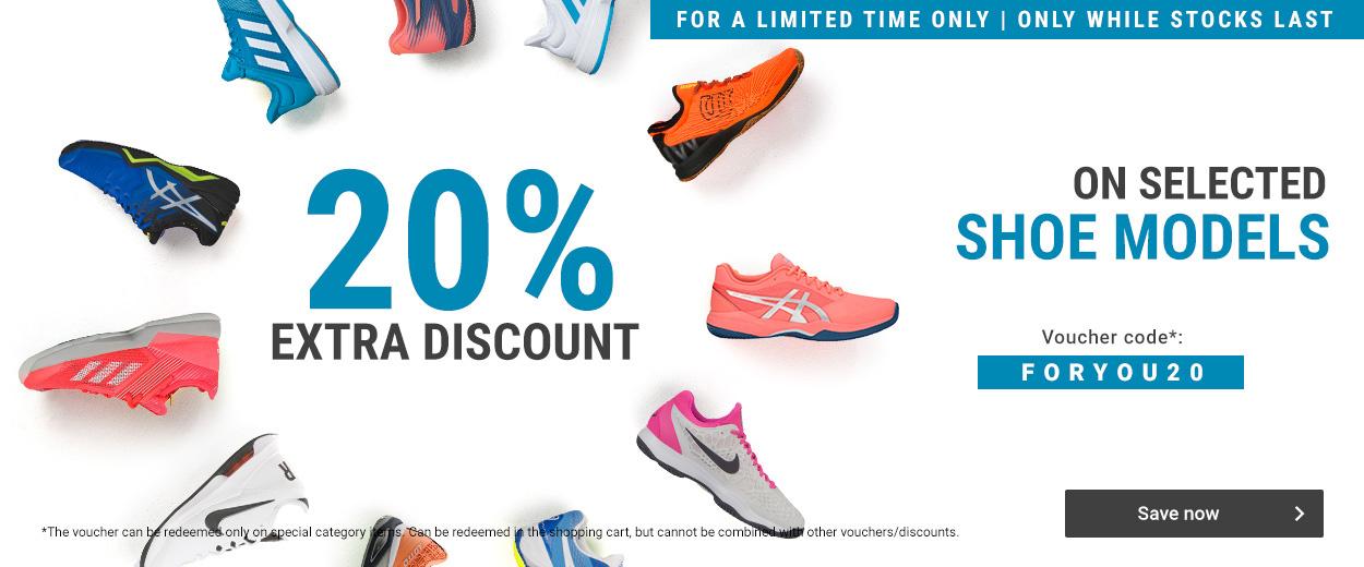 20% Extra discount