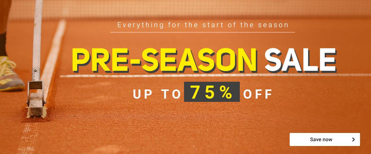 Pre-Season Sale