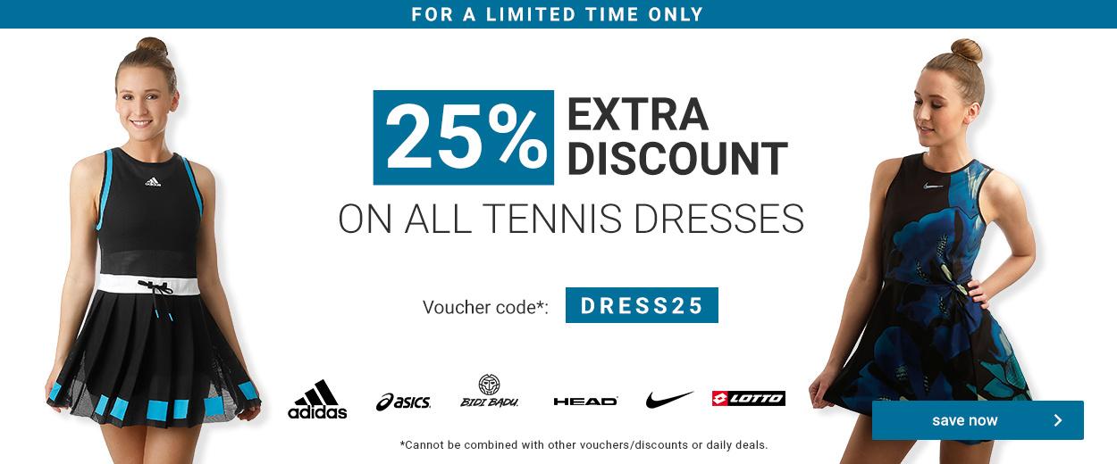 Tennis Dresses -25%