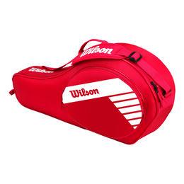 Junior 3er Racketbag Red