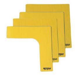 Markierungsecken 4er Pack (gelb)