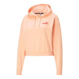 Essential Embroidered Cropped Hoodie