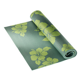 Yogamatte oliv gemustert