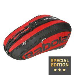 Racket Holder X12 Team pink black (Special Edition)