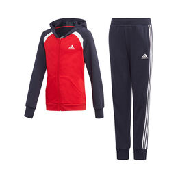 Hooded Cotton Tracksuit Girls