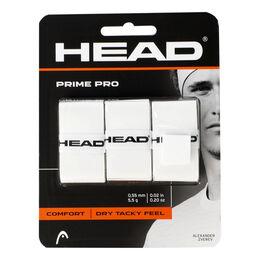 Prime Pro 3er Overgrip weiß