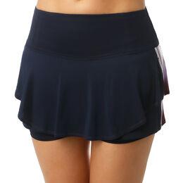 Long Lush Stripe Flip Skirt Women